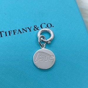 Tiffany & Co. Paloma Love Charm w/Jump Ring